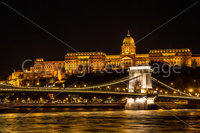 Buda Castle or the Royal Palace and the Chain Bridge