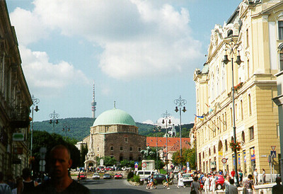 Mosque Church -- Pecs, Hungary