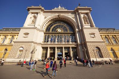 Keleti Railway Station, Budapest, Hungary
