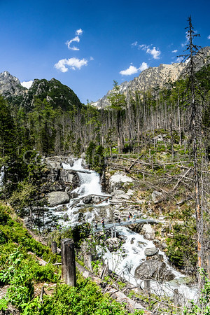 Studeny Potok Waterfalls