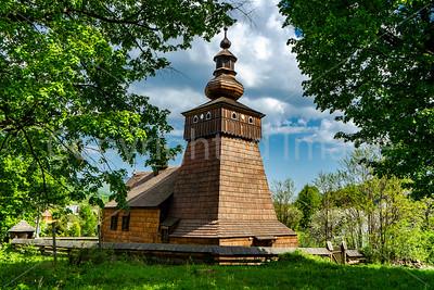 Wooden church in Fricka