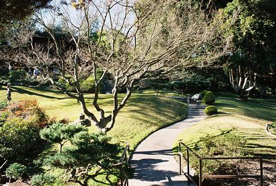 January 2003. Japanese Garden, Huntington Library & Botanical Gardens, San Marino, CA