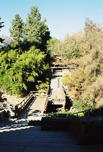 January 2003. Zen Court & Bonsai Court, Japanese Garden, Huntington Library & Botanical Gardens, San Marino, CA