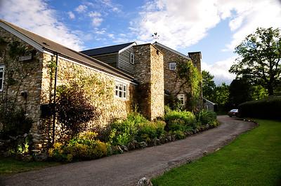 Huntshayes Farm - driveway