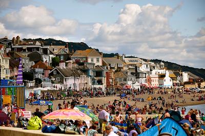 Lyme Regis - beach