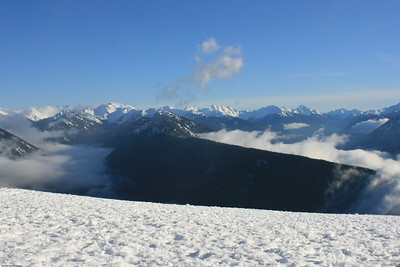 The Olympics from Hurricane Ridge