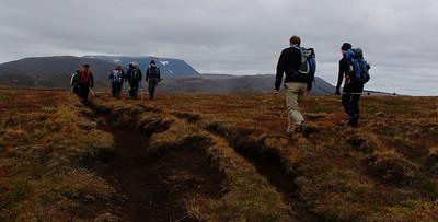 Í upphafi ferðar (frá Hvítárnesi)