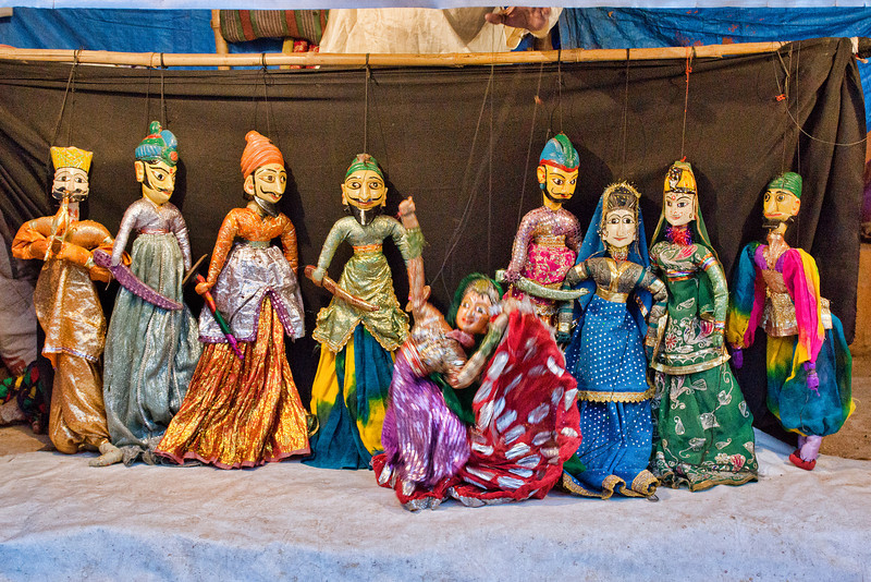 The great Indian Puppet Show