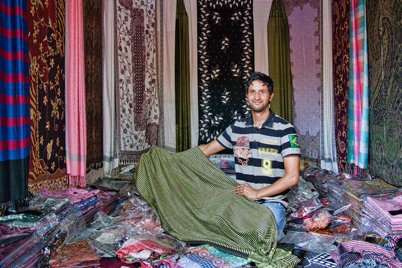 Only the finest Kashmiri Shawls for you Sir!