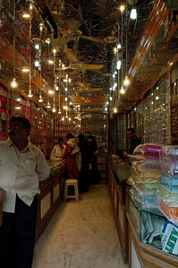 I bought bangles for the girls in this shop, one of many stocked to the hilt with flashy jewelry.