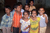 Very friendly, spunky kids near Birla Mandir