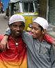 Muslim boys, near Charminar.