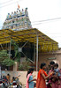 Temple opposite Arvind's home