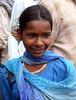 Street girl (a beggar), near Charminar.