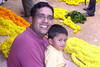 Arvind and son Dhruve