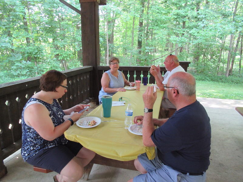 Laura, Aunt Jane, Uncle Mike and Uncle Randy