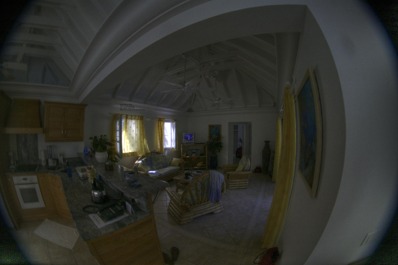 Another view of the interior of our villa.