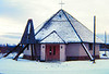 Teslin, Yukon Terr,(pop 231),  the Catholic Mission, Alaska Hwy mile 803, , nov 28, 1972