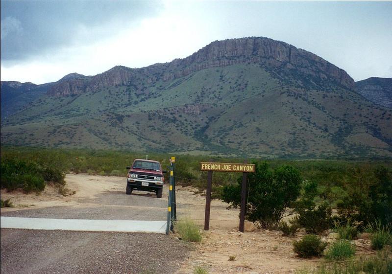 Arizona  French Joe Canyon, AZ,  8 17 98