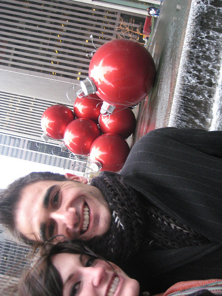 Christmas Time with Jordan in New York