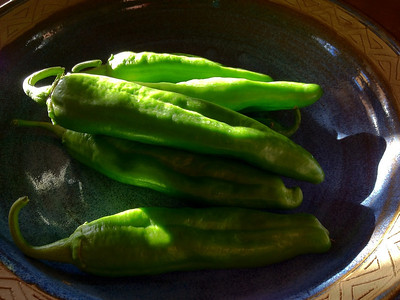 Hatch Green Chile Peppers