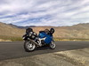 K1200S North of Mojave by 'MichaelMahoney'