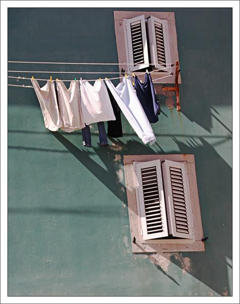 Laundryday in Cres [Croatia]
