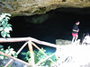 This is the cenote we snorkeled in