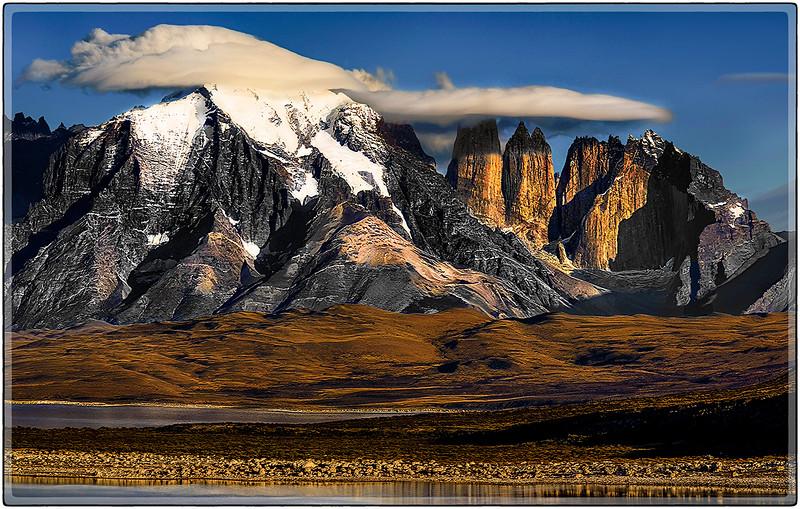 Lenticular Caps Over Las Torres Del Paine