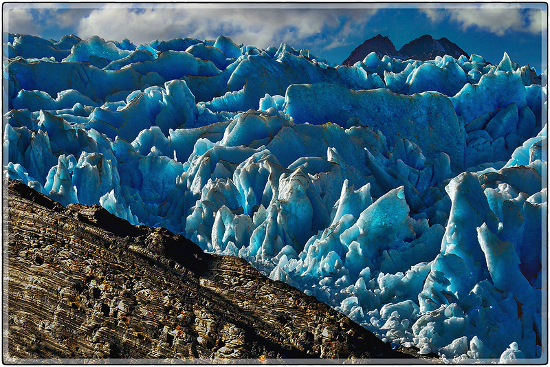 Grinding Ice On Rock