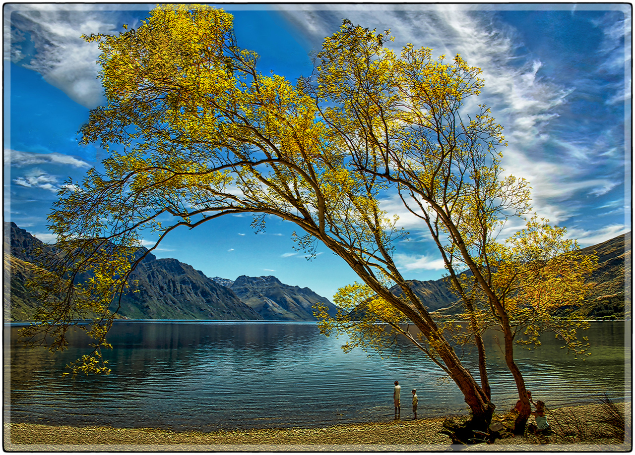 Lake Wakatipu, South Island