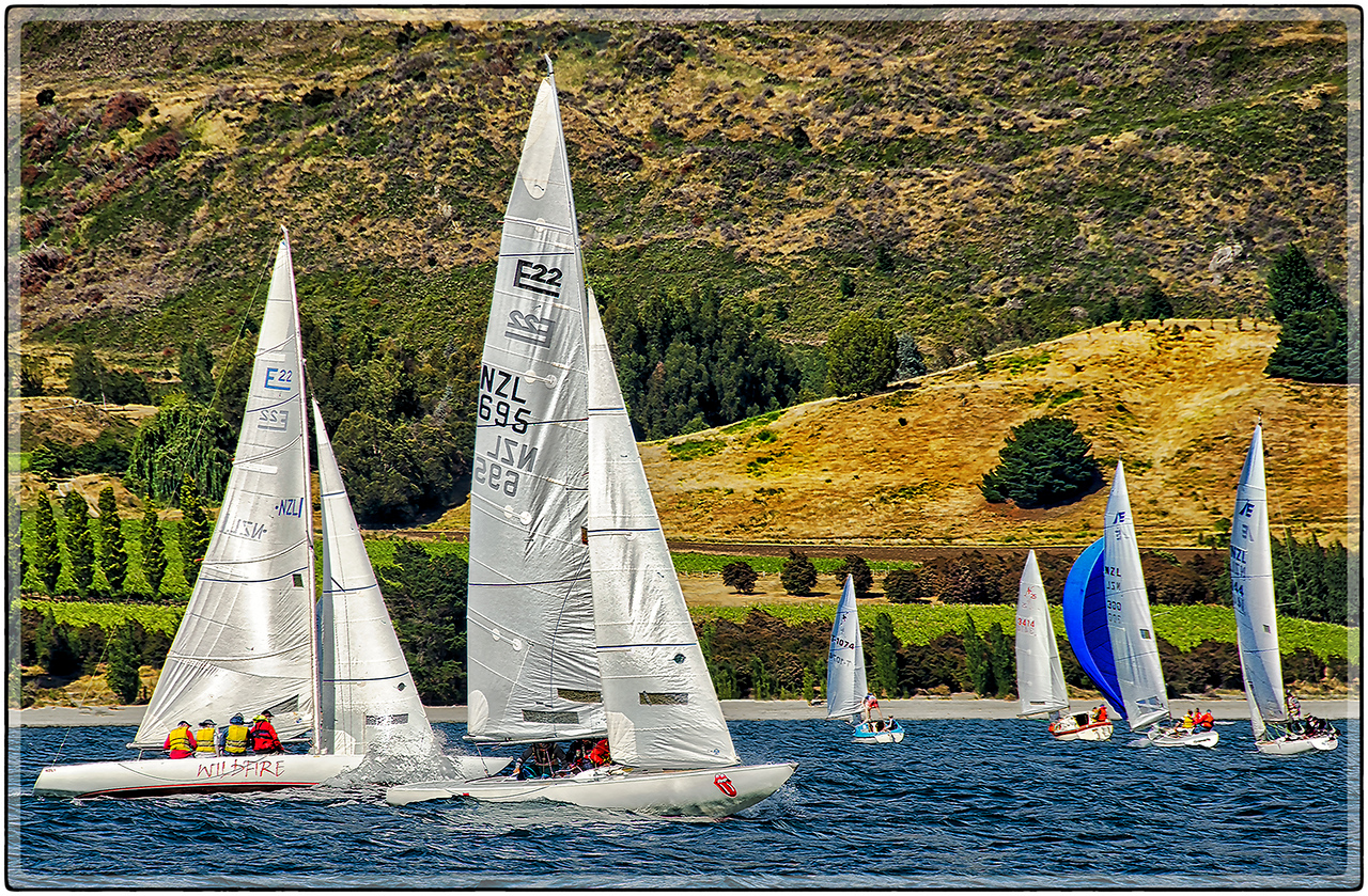 Regatta at Wanaka Lake