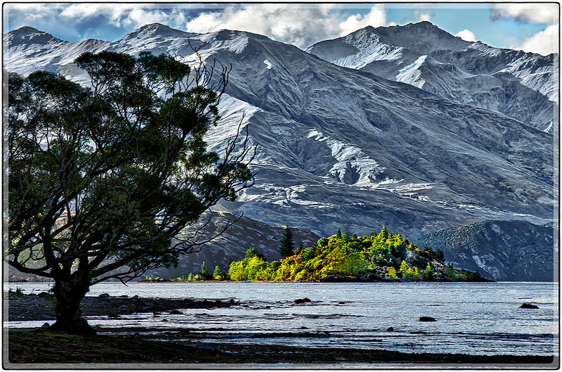 Green Island at Lake Wanaka