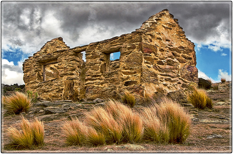 Ruins at The Bendigo Mines