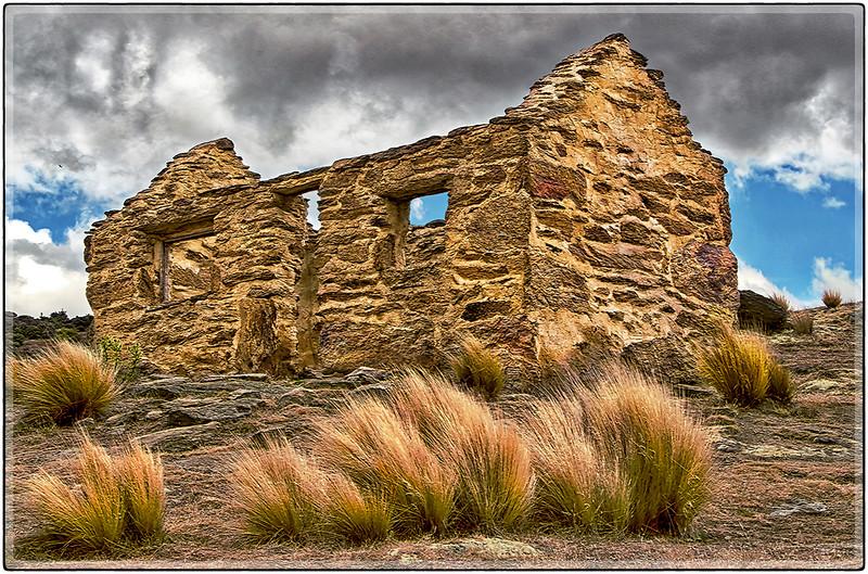 Ruins at The Bendigo Mines