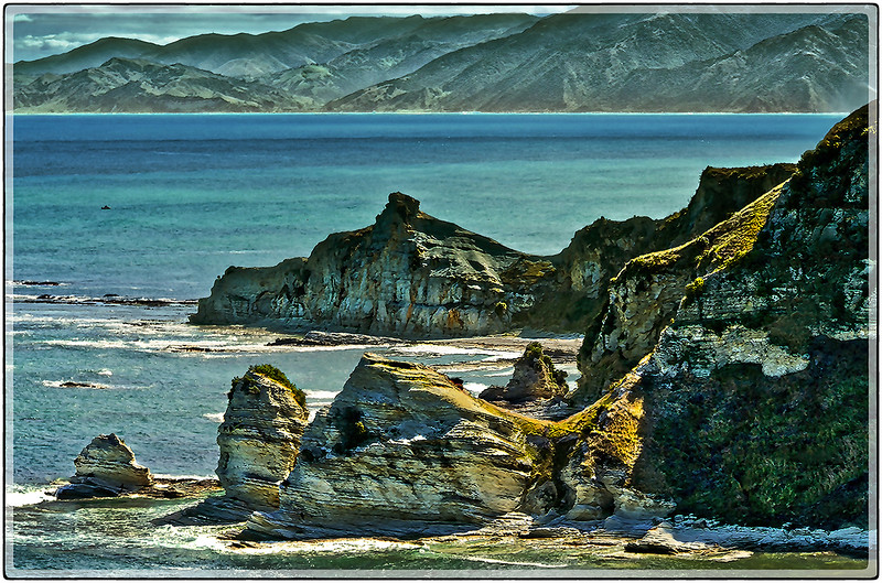 Coastal Rocks of Kaikoura