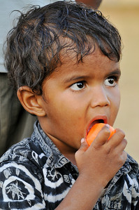 Son of the caretaker at Ashok's school in Jaipur.