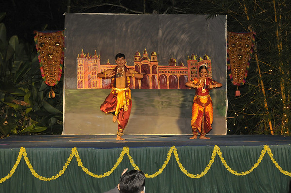 Entertainment that describes a ritual of the Mysore region to the east.