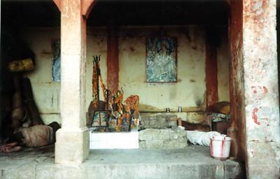 rest time at dhuni HANUMAN SHANKAR