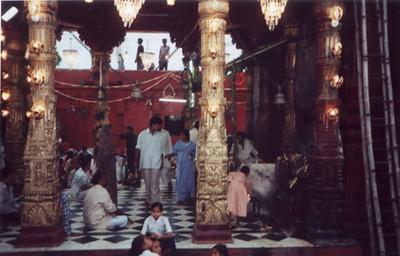 durga temple foyer SHANKAR