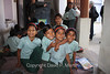 Students in a class room at the Saini Adarsh Vidhya Mandir School.