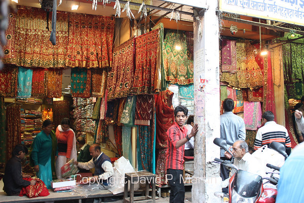 A shop in Old Delhi.