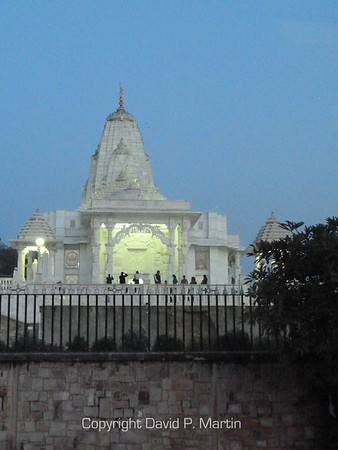 The Lakshmi Narayan Temple, Jaipur.