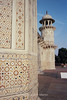 "Inlaid marble in the ""Mini-Taj."""