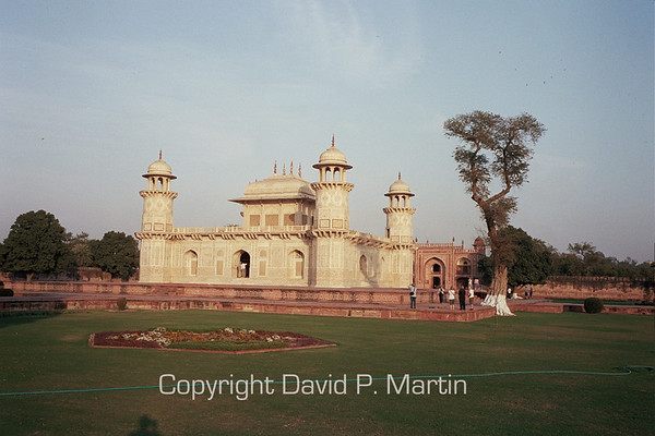 "Itmad Ud Daula, the ""mini-Taj"" in Agra."