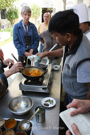 Prabhu shows us how to cook an Indian recipe. Is there anything this guy can't do?