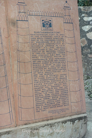 Ranthambhor Fort.