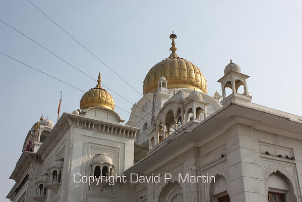 The Sikh temple.