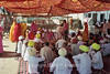 A village ceremony on the road to Nagaur.