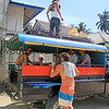 1317_05-24-15_Marlynto Surf Camp bus.JPG<br /> Heading off to the King's Village and waterfalls in the safari-style 'school bus'